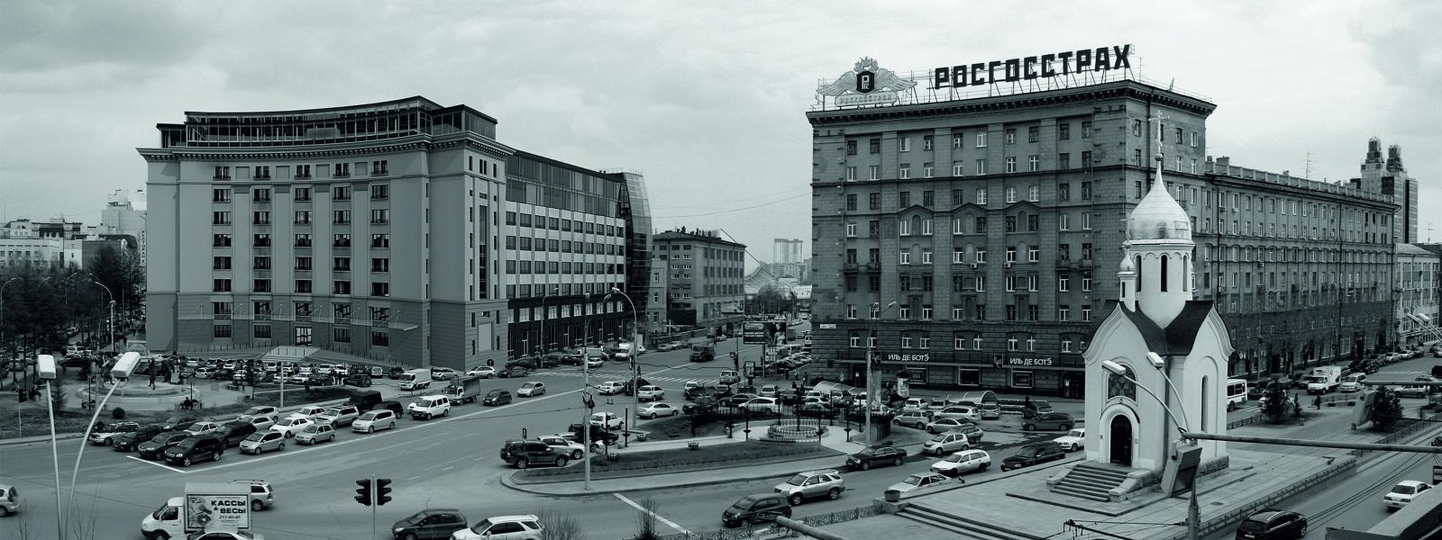 work-Общественно-жилой комплекс на базе реконструкции производственного корпуса №1 НИИИПа в Новосибирске