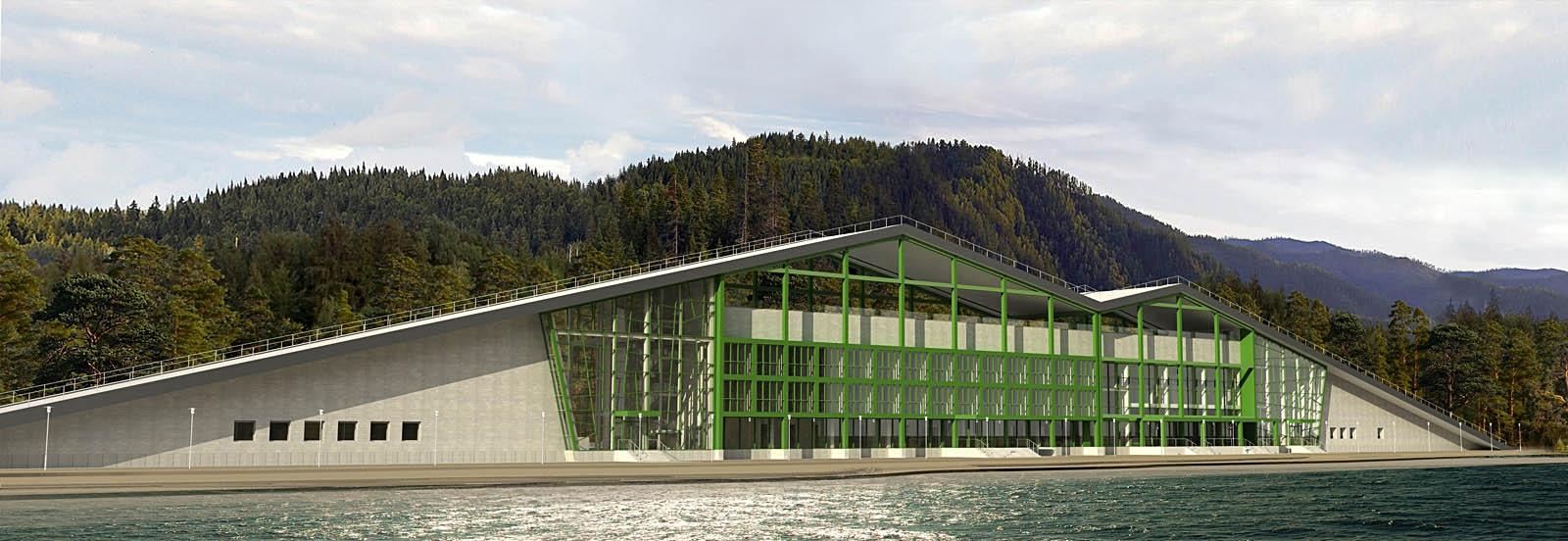 work-Проект гостиничного комплекса на берегу озера Байкал