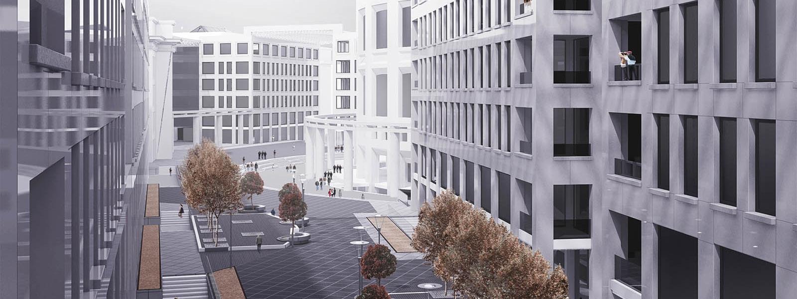 work-Реконструкция квартала на Московском проспекте в Санкт-Петербурге
