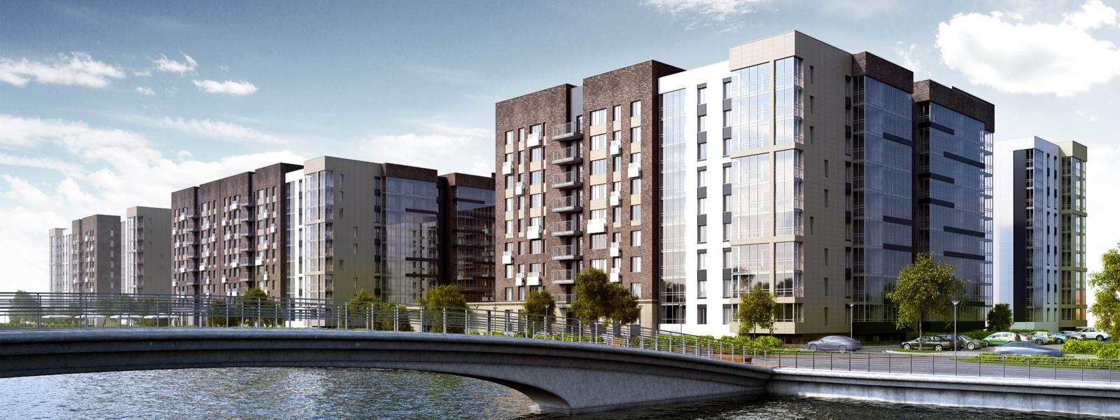 work-Проект жилого комплекса в контексте развития района Затон в Иркутске