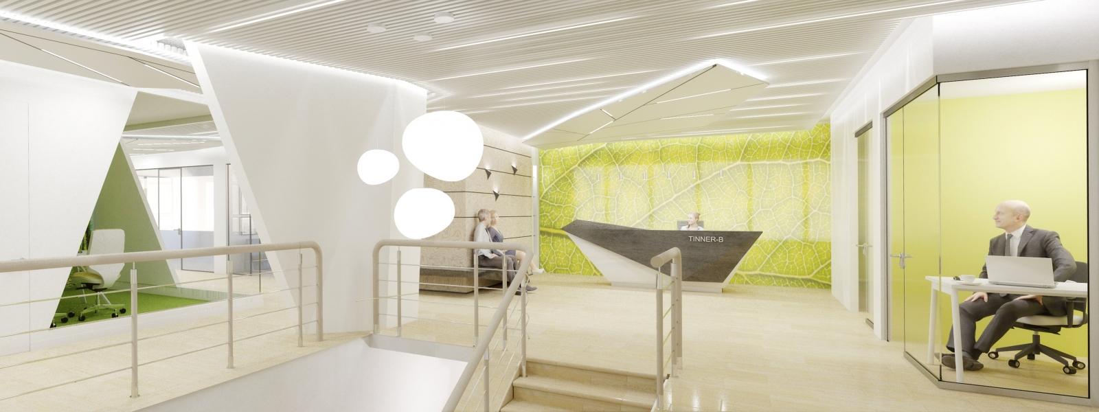 """work-Дизайн-проект офисных помещений группы компаний """"ТИННЕР-В"""""""