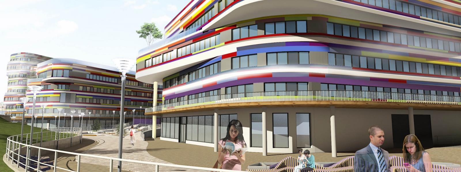 work-Студенческое общежитие на 1000 мест в Тюмени