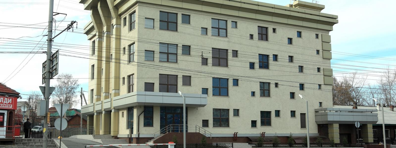 work-Общественное здание административного назначения со встроенной автостоянкой по ул. Владимировская, 25 в Железнодорожном районе Новосибирска