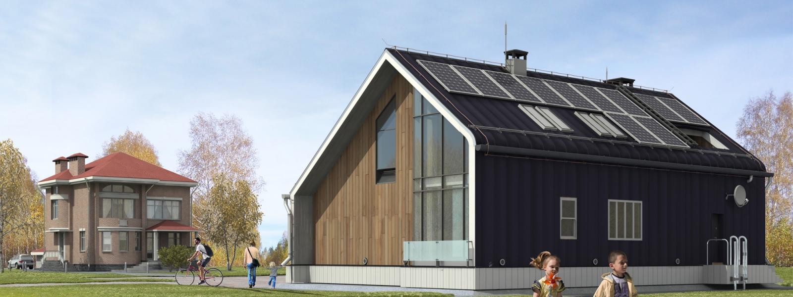 work-Понтонные дома. Система наземного понтонного подъема здания при наводнении