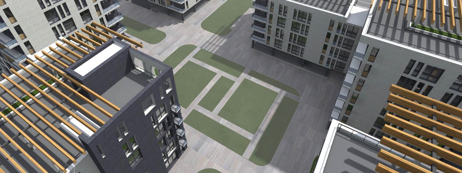 work-Многофункциональный жилой комплекс в условиях реконструируемой среды