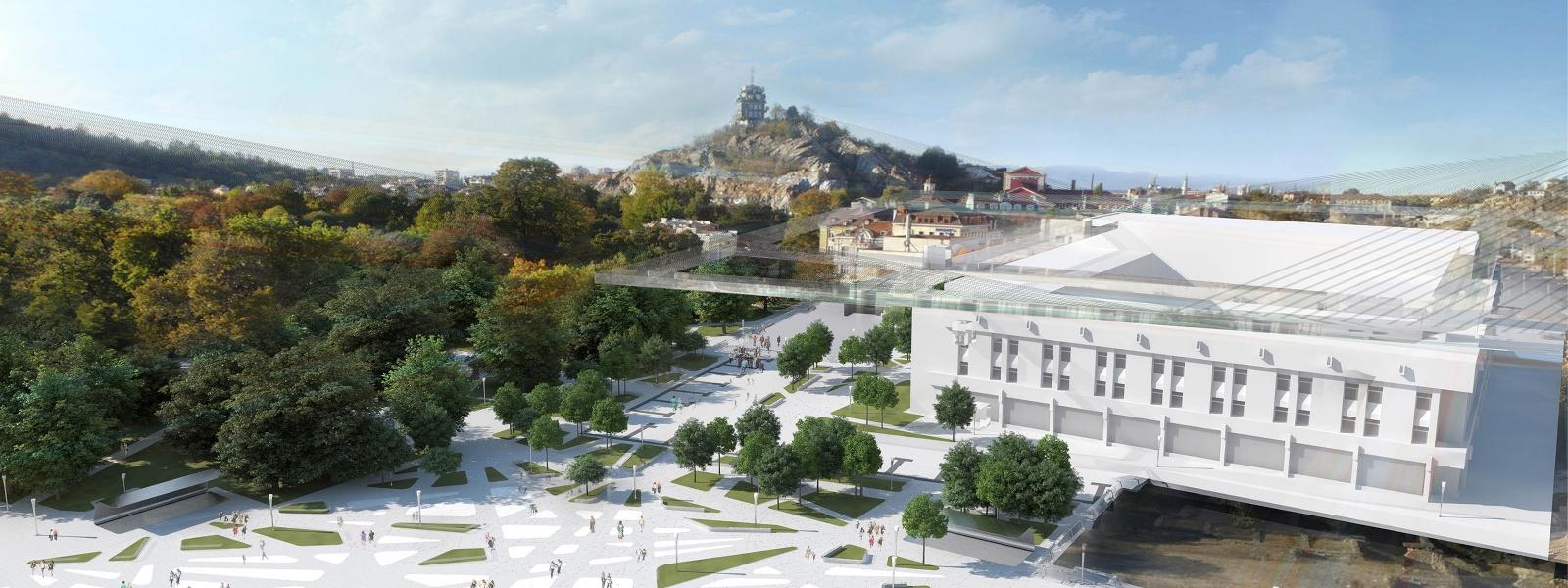 work-Концепция реконструкции центральной площади Пловдива, Болгария