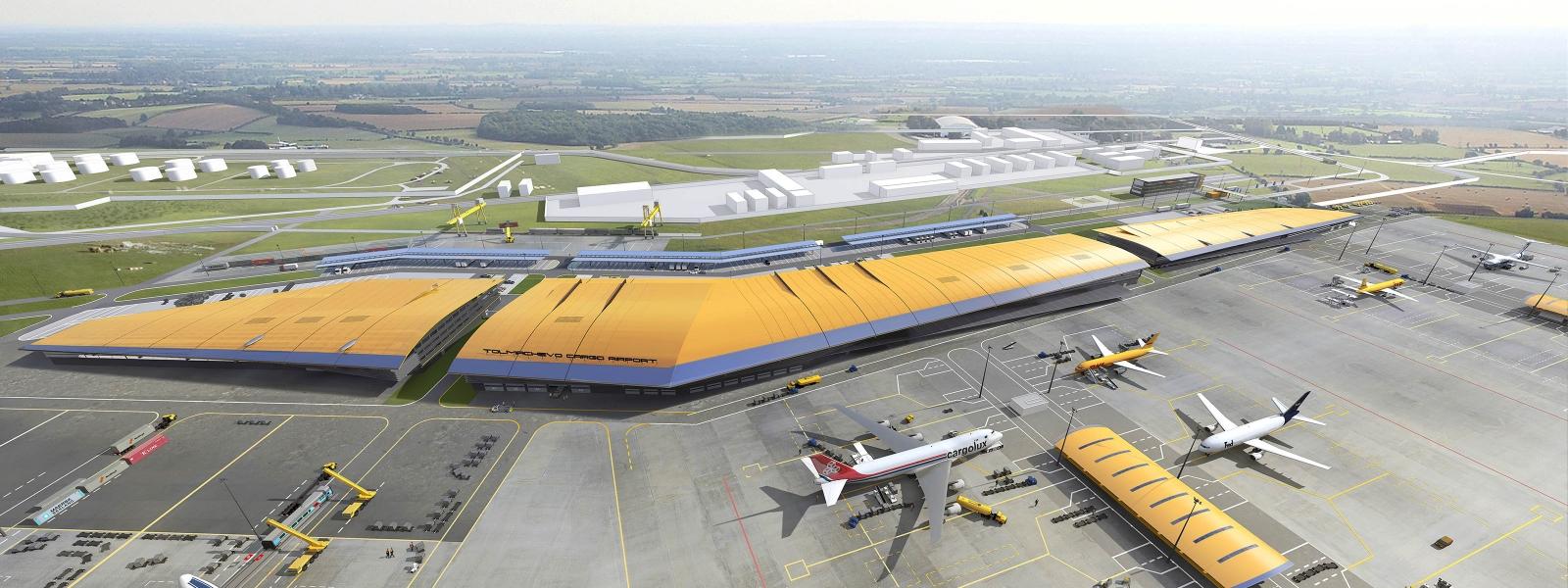 work-Грузовой авиатранспортный узел на базе аэропорта Толмачево