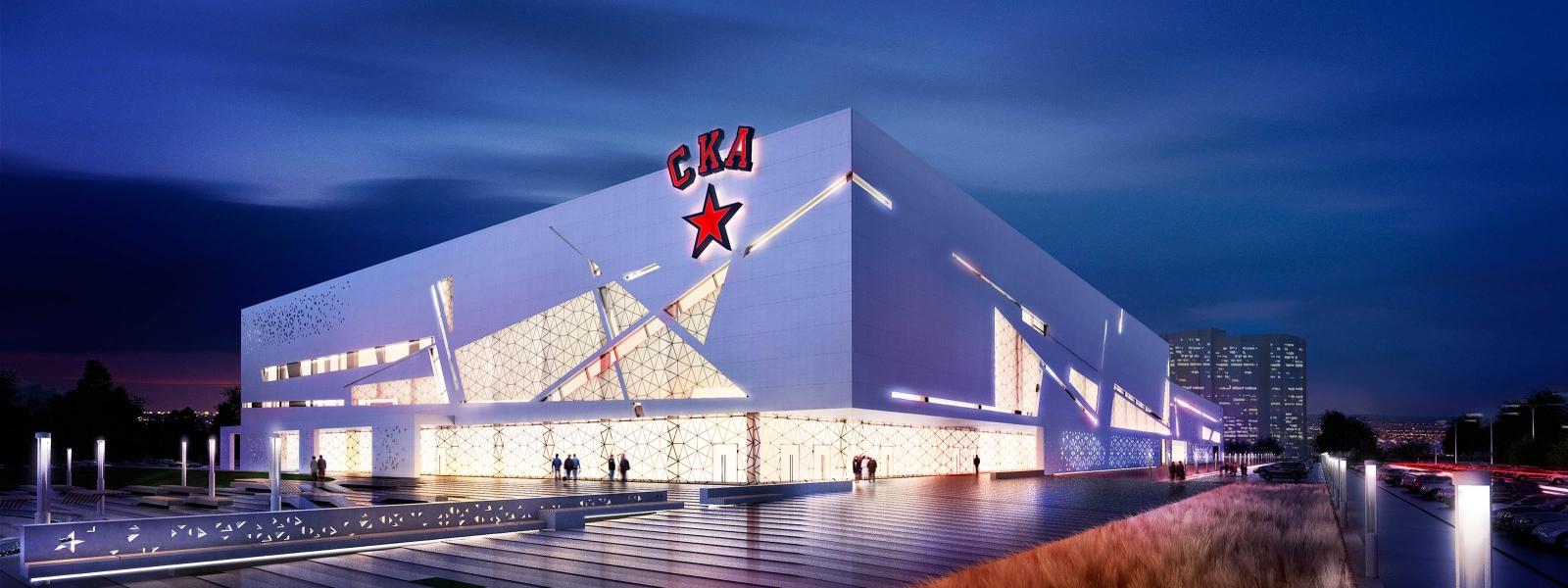 work-Проект спортивного комплекса для команды СКА