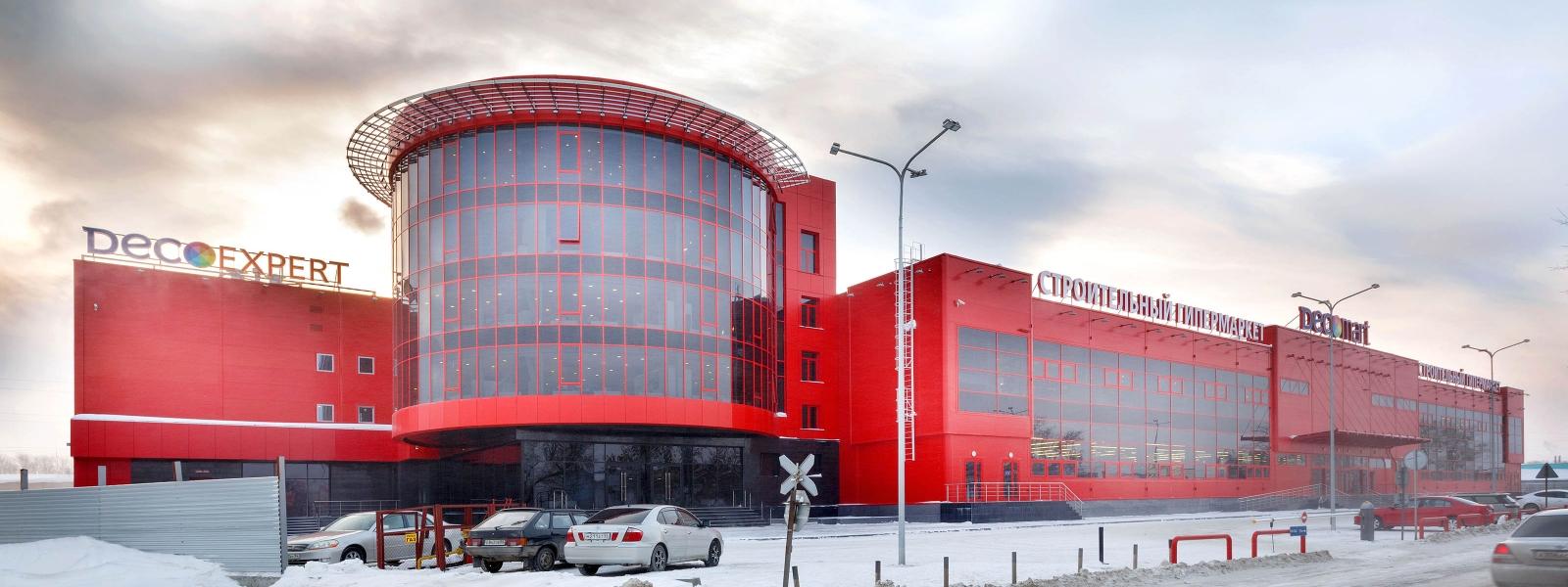 """work-Многофункциональный комплекс """"Декомарт"""" в Новосибирске"""