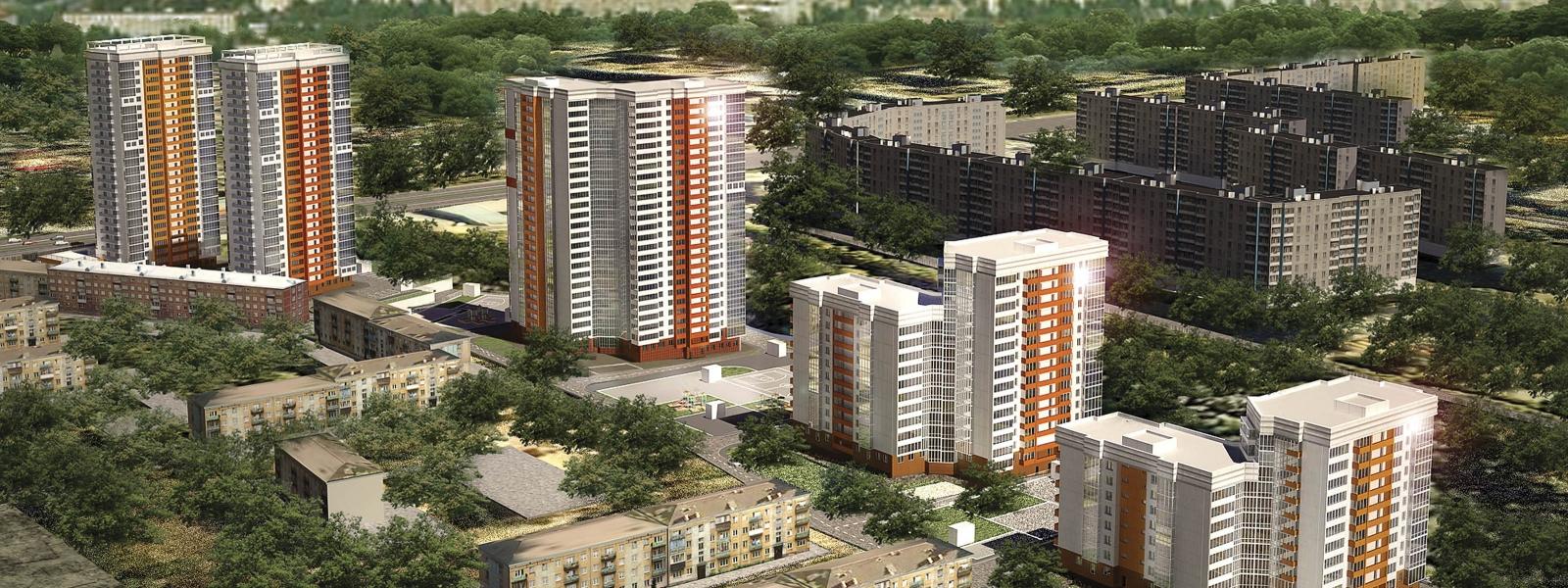 work-Жилые дома с помещениями общественного назначения и подземными автостоянками по ул. Танковая