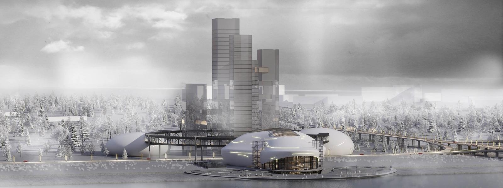 work-Многофункциональный комплекс с оперным театром на 1000 мест