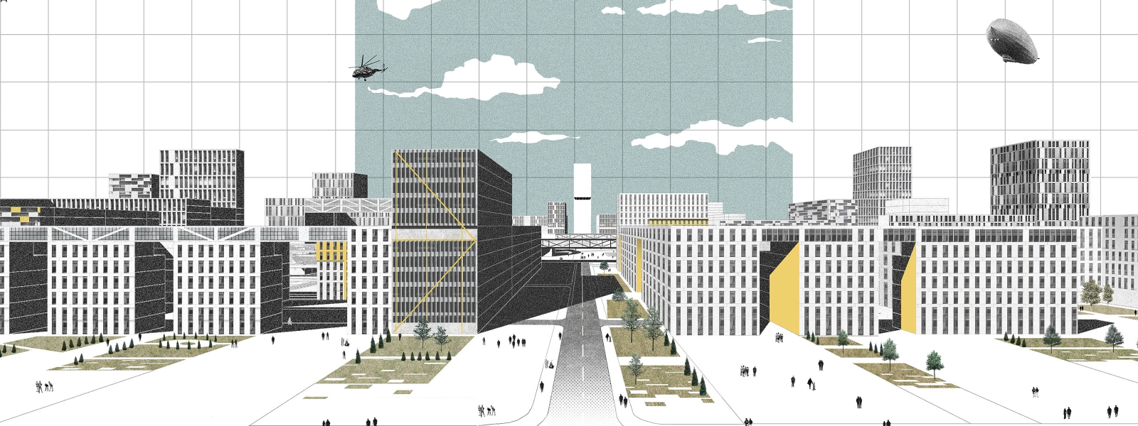 work-Проектное предложение по планировке микрорайона в Салехарде