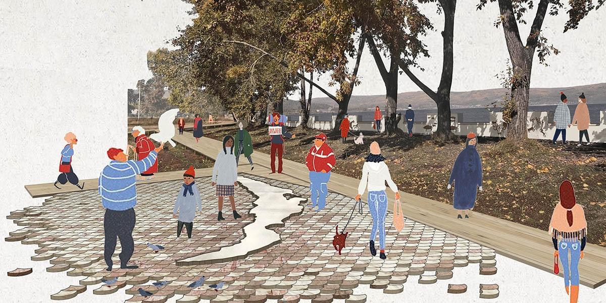 work-Отражение идентичности города Слюдянки в благоустройстве