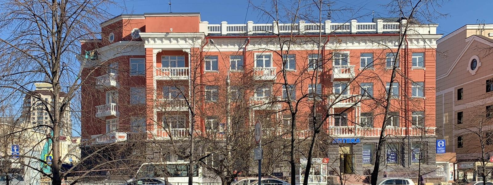 """work-Гостиница """"Алтай"""" в Барнауле. Проект реставрации и реновации"""