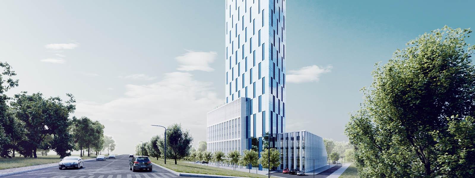 work-Многофункциональный административно-деловой комплекс в Иркутске