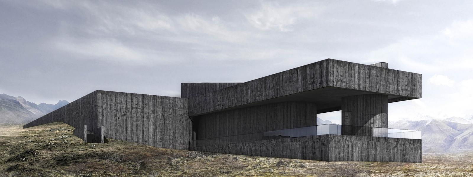 work-Проект банно-термального комплекса ощущений в Исландии
