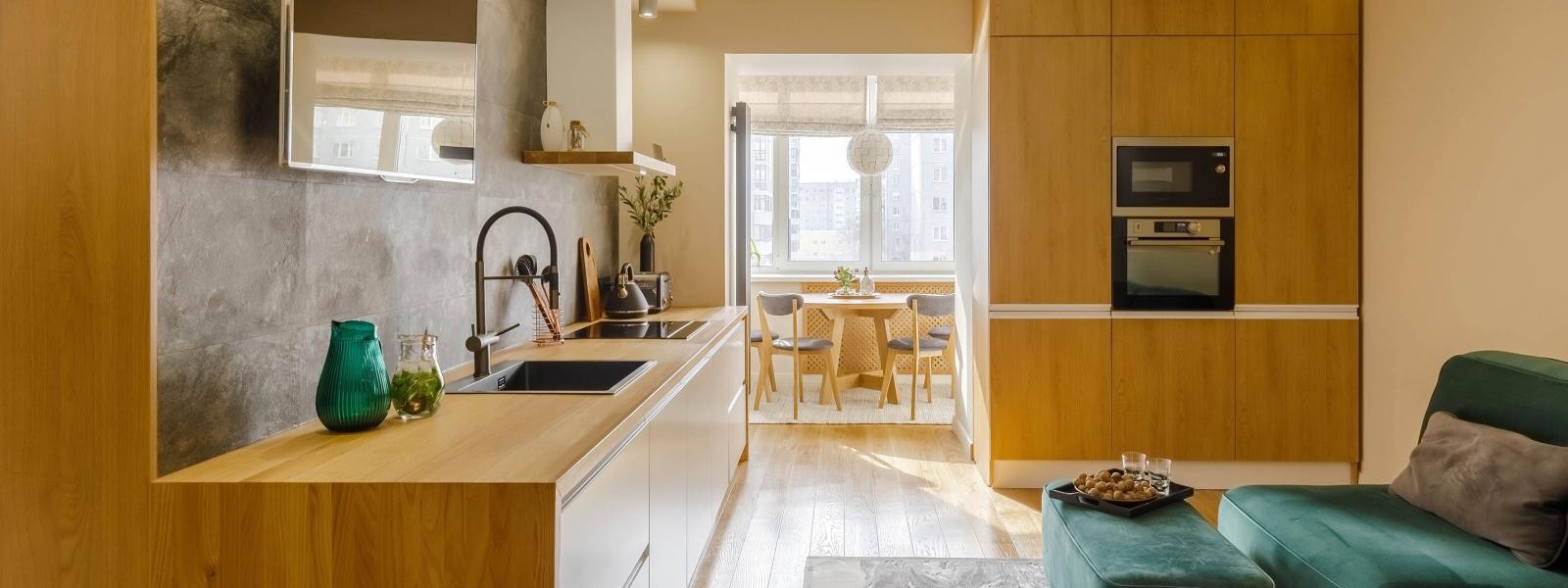 work-Проект интерьера квартиры «Саяны»