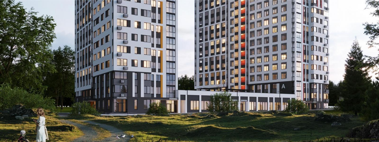 work-Многоэтажный жилой дом «Оазис» в Ижевске