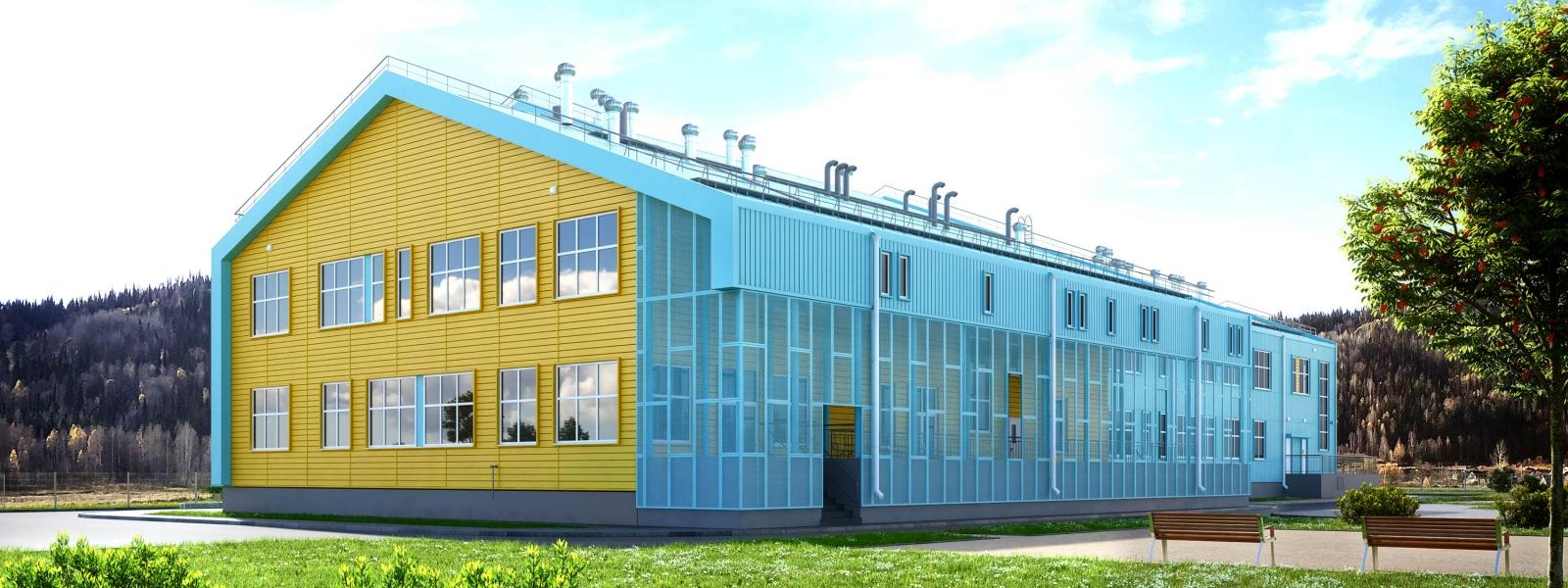 work-Школа в поселке Теба