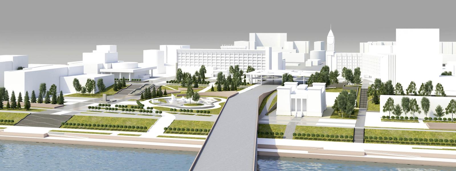 work-Градостроительная концепция пространственного развития фрагмента застройки исторического центра Красноярска