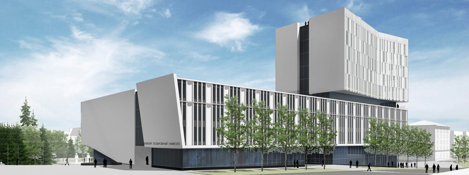 work-Концепция учебно-лабораторного корпуса Алтайского Государственного Университета с общественными функциями