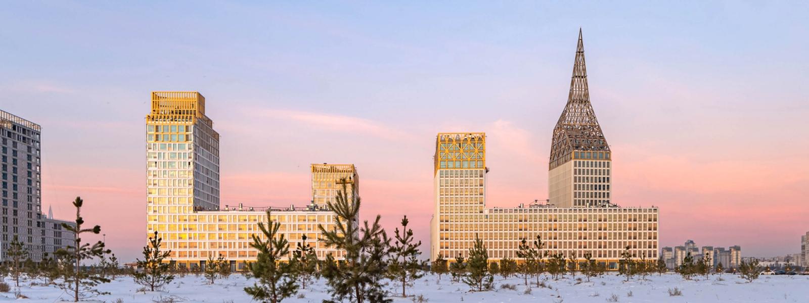 work-Жилой комплекс «GOLDEN CITY»
