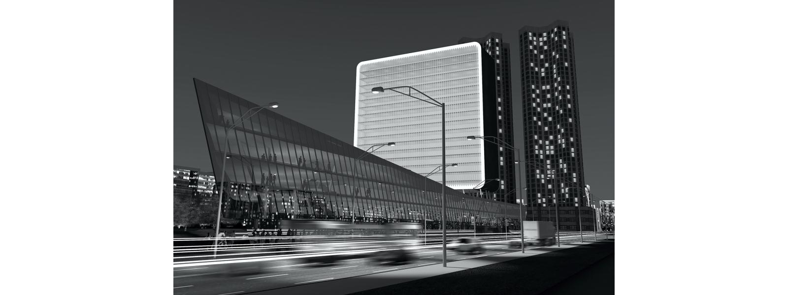 work-Многофункциональный комплекс Cheongju New Cityhall, S. Korea / Новая ратуша в городе Чхонджу, Республика Корея